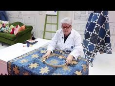 Laurie Simpson - YouTube ~ Hand quilting using the big stitch