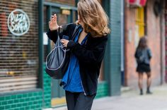 The+Latest+Street+Style+From+London+Fashion+Week+via+@WhoWhatWear