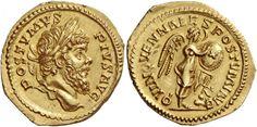 Gallic Empire AV Aureus ND Colonia Agrippina Mint 263/4AD Postumus 259-68AD