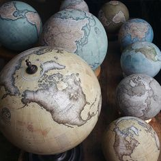 Bellerby & Co Globemakers, London | Handcrafted and Hand Painted Terrestrial & Celestial World Globes I www.bellerbyandco.com