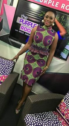 afrikanische kleider Trendy ankara dresses to slay for the weekend Ghana Dresses, African Wear Dresses, Latest African Fashion Dresses, African Print Fashion, African Attire, African Clothes, Fashion Models, Fashion Outfits, Kids Fashion