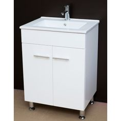 Artemis WPL600-1:600mm bathroom vanity unit on Legs