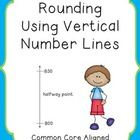 This product is an individual lesson plan that targets rounding to the tens, hundreds, thousands, ten thousands and hundred thousands using vertica...