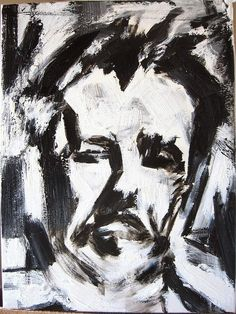 Franz Kline, Self-portrait                                                                                                                                                     Plus