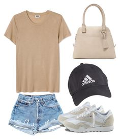 """""""Simple Summer"""" by filthyriot on Polyvore featuring Reebok, Forever 21, adidas, women's clothing, women, female, woman, misses and juniors"""