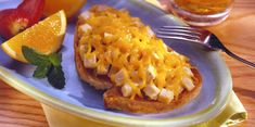 Diced turkey is mixed with mayonnaise, mustard and pickle relish, then topped with Sargento® Shredded Mild Cheddar Cheese - Traditional Cut on a piece of hearty toast. Hot Sandwich Recipes, Turkey Salad, Pickle Relish, Wrap Sandwiches, Cheese Recipes, Cheddar Cheese, Quick Easy Meals, Recipe Ideas, Appetizers