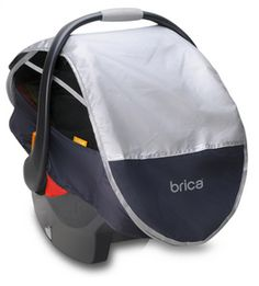 Perfect way to keep people out of baby's space! LOL @Brica Inc.