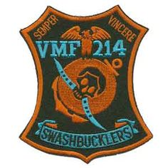 "Swashbucklers "" Original name of VMF 214 Blacksheep""."