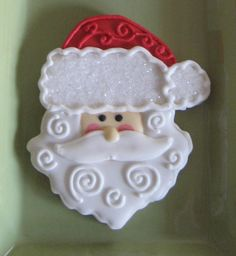 Inspiration Picture of Santa Cookie