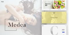 Medea – it is PSD Template for corporation, portfolio and restaurant websites. It is clean, modern and elegant PSD template for creating website for your business. You can choose from 3 separate to...