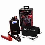 Red Fuel Portable Jump Starter and Battery Charger
