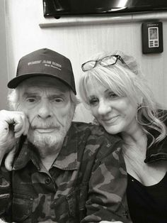 Merle Haggard and wife, Theresa