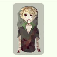Ben Drowned fan art ☺ #yasin277 #instagram #zelda #link #legendofzelda #ben #drowned #creepy #pasta #death #blood #low #poly #fan #art #fanart #lowpoly #triangles #geometric #green #yellow #filter #patreon #simplycooldesign #TheLegendOfzelda #ocarina #of #time #modern