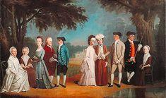 18th-century American Women: American Artist Henry Benbridge 1743-1812