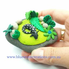 There's no denying that Australian native animals are adorable. Jo from Blue Wren Creations in Tasmania loves sculpting loveable whimsical miniature Australian native animals, mushrooms, fungi & botanical earrings. Cottagecore, Australiana art, home decor, fairy garden & unique gift ideas. Follow along on Facebook & Instagram for cottagecore art updates, & pop over to the website to see what's currently available.