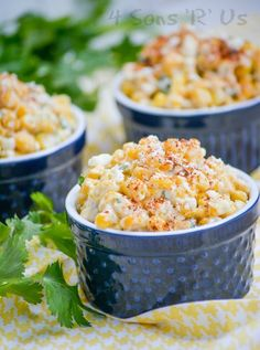 A beautiful blend of sweet and spicy this Mexican Street Corn Salad is essentially deconstructed Elote made off of the cob, ready to serve a crowed, and finished with a dash of smoky seasoning. Making it a truly out of this world side dish idea for any occasion, especially barbecues  potlucks.