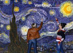 Van Gogh Alive with Ola Kochia :)