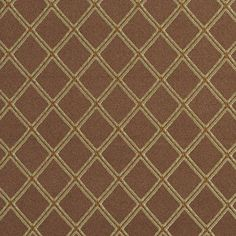 Toffee Classic Beige and Brown Abstract Damask Upholstery Fabric