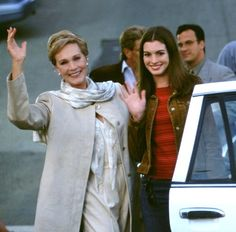 """The Princess Diaries"" ~ starring Julie Andrews and Anne Hathaway, 2000."