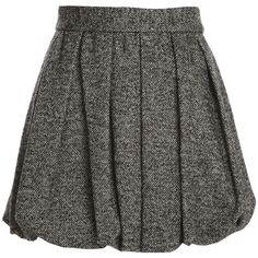 Alice + Olivia Roni Short Bubble Skirt ($83) ❤ liked on Polyvore