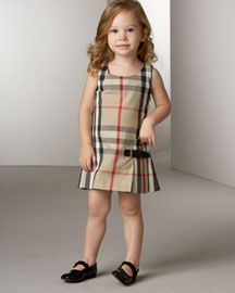 fa2438d44b35 Burberry dress <3 | My Girl ♥ | Burberry dress, Toddler girl ...