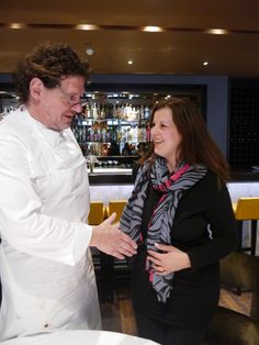 """""""Hello Marco""""! Meeting Chef Marco Pierre White #food #MPW #blogging #masterclass #MarcoPierreWhite #cooking"""