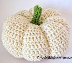 Free Fall and Halloween Pumpkins Crochet Patterns