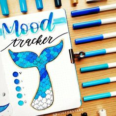 A mood tracker is a great way to show your moods in a fun and creative way. Here are 30 Mood Tracker Ideas to get you inspired for your bullet journal. These mood trackers are gorgeous and unique in their own way. Bullet Journal Mood Tracker Ideas, Bullet Journal Paper, Creating A Bullet Journal, Bullet Journal Lettering Ideas, Bullet Journal Notebook, Bullet Journal Aesthetic, Bullet Journal Spread, Bullet Journal Ideas Pages, Bullet Journal Inspiration