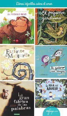 Libros para niños sobre el amor