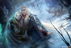 Please don't die my dear Legolas << WHY WOULD ANYONE DO THIS? If this happened to Legolas, I think Thranduil would literally die of a broken heart because he already lost his wife! Legolas Und Thranduil, Aragorn, Tauriel, Legolas Funny, Fantasy World, Fantasy Art, Mirkwood Elves, J. R. R. Tolkien, O Hobbit