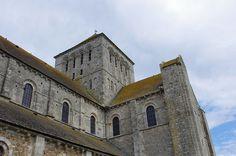 L'abbaye de la Sainte-Trinité. Lessay. Normandie