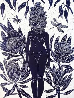 Marinka Parnham's lino prints are so popular you can always find one on the Just Sold page! This piece is called Betty Banksia and hopefully she's made enough of them to go around. Australian Birds, Ouvrages D'art, Buy Art Online, Art Mural, Wall Art Prints, Artwork Wall, Lino Prints, Artwork Ideas, Aboriginal Art