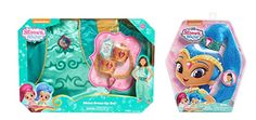 It's a wish come true! It's now easier than ever to dress up like Shimmer and Shine and create some genie magic. These sparkly pony tails come with hidden combs that help attach the wig your hair in j...