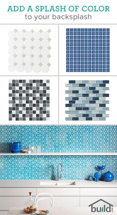 A little backsplash goes a long way, and no one knows that better than the people at Build.com. They have a color for any kitchen, and the know-how to help you select the best one. See for yourself by going to Build.com today!