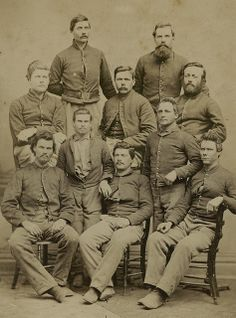 Group Portrait of Company I, 1st Wisconsin Cavalry