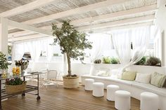 Hotel es Marés, a boutique hotel in Formentera - Page Terrazas Chill Out, Interior Design Programs, Home Theater Rooms, Beautiful Interior Design, Interior Exterior, Clean Design, A Boutique, Decoration, House Design