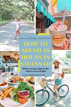 Savannah Georgia Beach, Visit Savannah, Savannah Chat, Oh The Places You'll Go, Places To Travel, Simply Taralynn, Tybee Island, Ultimate Travel, Ms Gs
