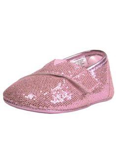 Girls Metallic Sparkle Slip-On Baby Sneakers by Stepping Stones - Pink - 2 Infant / 3 Mths-6 Mths Stepping Stones http://www.amazon.com/dp/B00FFKZJTM/ref=cm_sw_r_pi_dp_Zgfpub0FMC82N