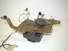 Rowe 1200 Jukebox Mechanism Turntable Motor / Mounting Bracket and Idler (Item #84) $54.99