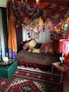 My Gypsy room, created by my husband & I. Our favorite room in the house to hang out. Great Bohemian vibe.