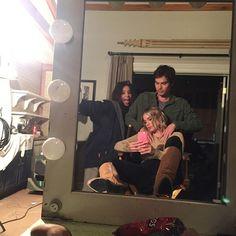 Ashley Benson and Tyler Blackburn selfie!