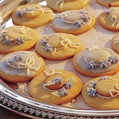 Bridal Shower Ideas -  Hat Cookies