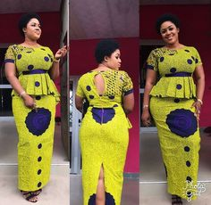 Ankara styles 2020 are one of the most gorgeous African dresses. Get latest Ankara styles and attire trending now which you can even use for Asoebi. African American Fashion, Latest African Fashion Dresses, Latest Ankara Styles, African Print Dresses, African Dresses For Women, African Print Fashion, Africa Fashion, African Attire, Mom Fashion