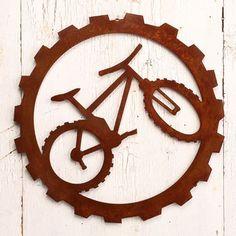 Bicycle Art   New Mountain Bike Wall Art   Tribute Sport Bike Art
