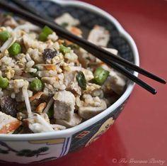 Clean Eating Pork Fried Rice #CleanEating #Dinner #DinnerIdeas