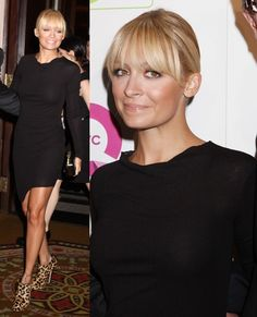 Nicole Richie Shops QVC's Shoes on Sale Event in House of Harlow 1960 Natalia Leopard Print Booties