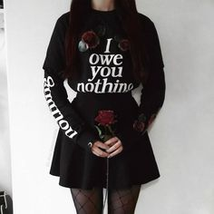 Every Thorn Has Its Rose  Nothing Long Sleeve Top | Shop link in bio. We Ship Worldwide!