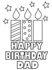 Happy Birthday Dad Happy Birthday Cards Printable Birthday Card