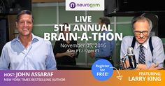 Learn from 7 World-Leading Brain and Money Experts During This FREE LIVE Online Event!