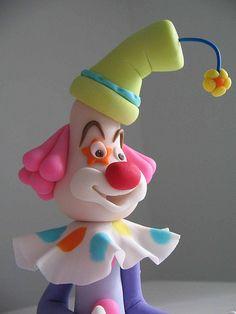 Palhaço... (www.djalmareinaldo.com.br) by Djalmma Reinalldo (Cake Designer), via Flickr